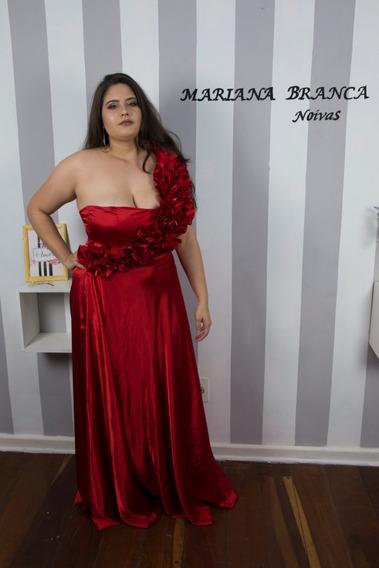 Vestido Madrinha Vermelho Aluguel Vestidos Femeninos Longo