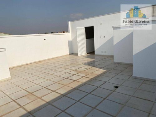 Imagem 1 de 26 de Cobertura Com 2 Dormitórios À Venda, 52 M² Por R$ 315.000 - Parque Das Nações - Santo André/sp - Co0172