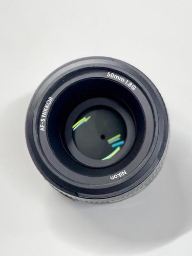 Lente Nikon Af-s Nikkor 50mm F/1.8g Autofoco