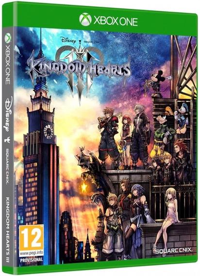 Game Kingdom Hearts 3 Xbox One Disco Fisico Novo Promoção