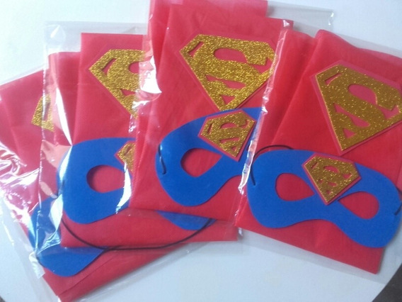 Capas Superhéroe Superheroina Cumpleaños