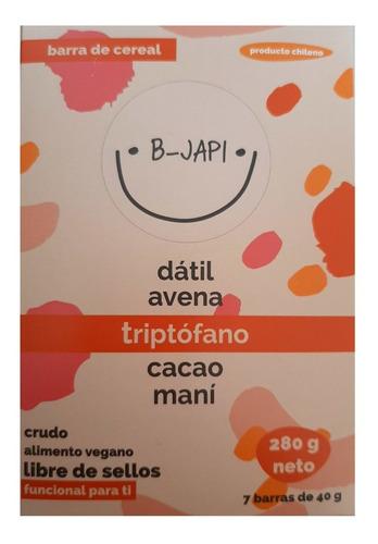 Caja B-japi 7 Unidades Barra Cereal