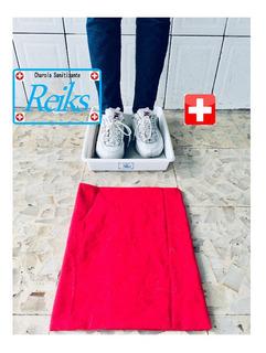 Tapete Desinfectante Con Charola Para Solución Sanitizante