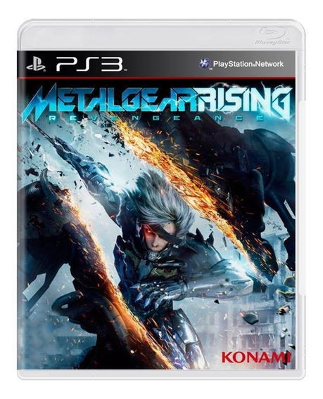 Jogo Ps3 Metal Gear Rising Revengeance Original Usado