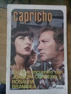 Rosalba Brambila Y Joaquín Cordero En Fotonovela Capricho
