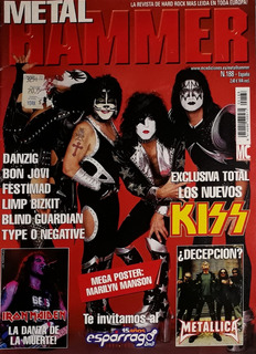 Lote 3 Revistas Metal Heavy Rock, Kerrang, Metal Hammer