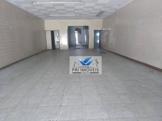 Loja À Venda, 560 M² Por R$ 1.500.000,00 - Centro - Santos/sp - Lo0008