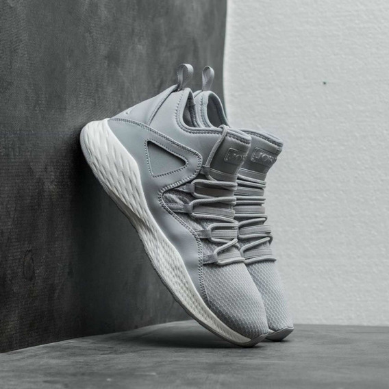 Zapatillas Nike Jordan Formula 23 Grises Talle 40