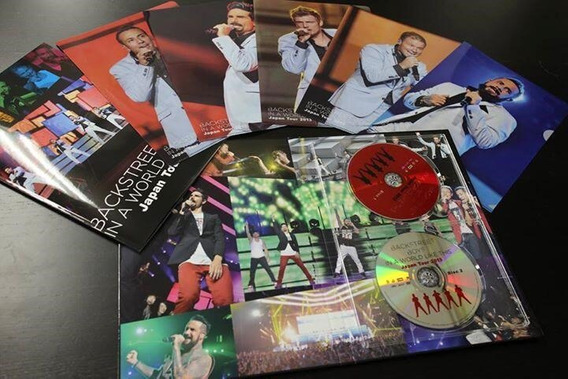 Backstreet Boys Dvd In A World Like This Japan Tour 2013