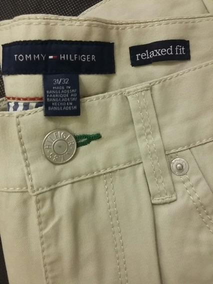Tommy Hilfiger | Pantalón Relaxed Fit 31/32 Usa