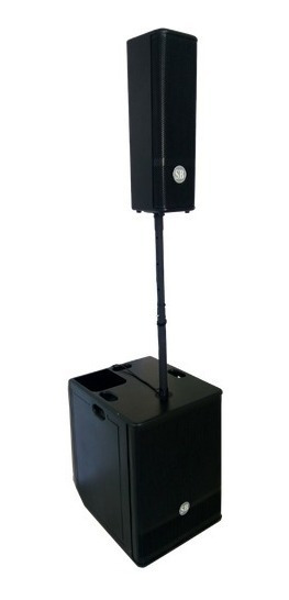 Caixa Som Coluna Torre Pa Vertical Soundbox Omne 1000 Ativa