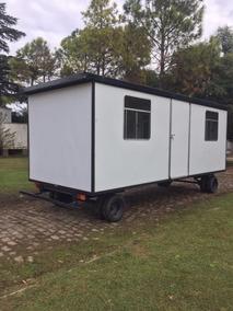 Oficina Movil 600x240 ,obrador, Casilla Rural, Trailer