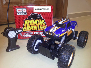 Oferta Carro Para Niño +8años Maisto Rock Crawler Importado