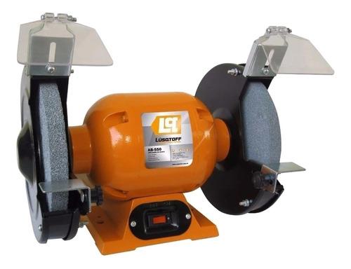 Amoladora de banco Lusqtoff AB-550  de 50Hz naranja 220V