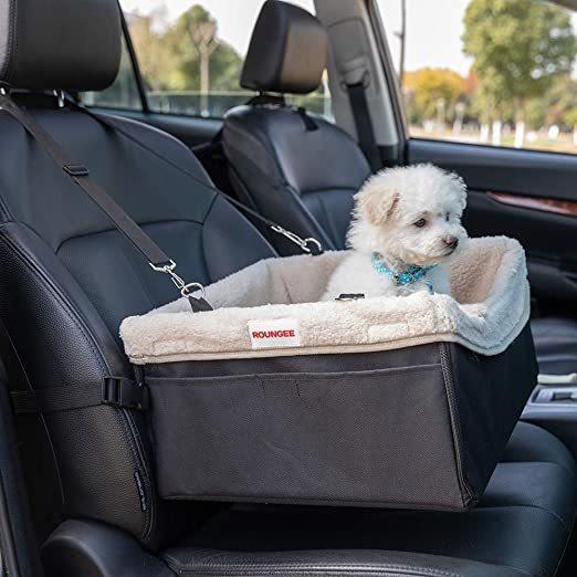 Asiento Elevador Para El Automóvil Del Perro Casero, Asiento