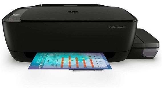 Impressora A Cor Multifuncional Hp 416 Ink Tank Wi-fi Bivolt
