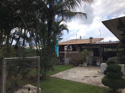 Chácara Com 3 Dormitórios À Venda, 845 M² Por R$ 550.000,00 - Monterrey - Louveira/sp - Ch0048