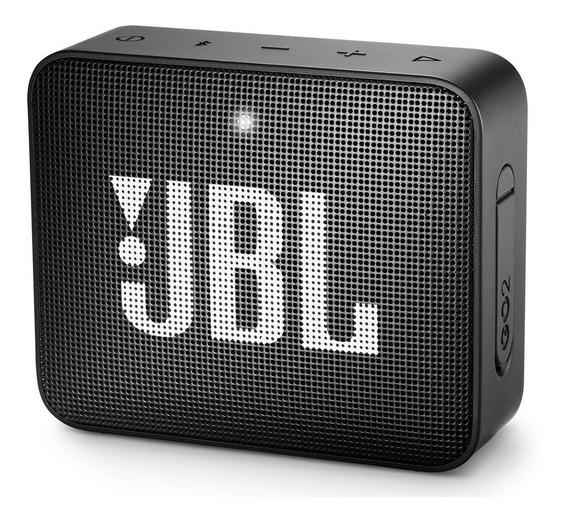 Caixa Bluetooth Jbl Go2 Preta Com Potência De 3 W - Jbl