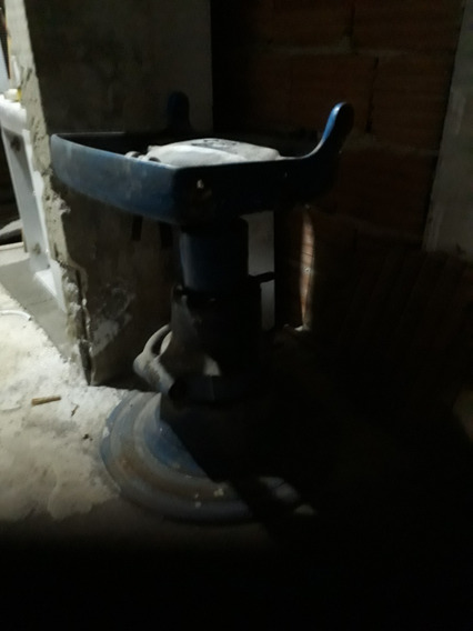 Base Para Cadeira De Dentista/barbeiro Hidráulica Antiga