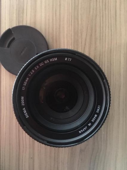 Câmera T5i + Lente 18-55 Do Kit + Lente 17-50 Sigma 2.8