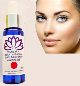 Serum Anti-idade Young Skin Ac Hyalu Mais Vit B5 Envio Agora