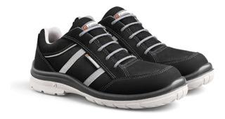 Zapatillas De Seguridad Funcional Soul Negras Talle 38