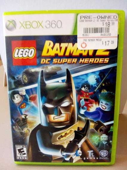 Lego Batman 2 Dc Super Heroes - Xbox 360