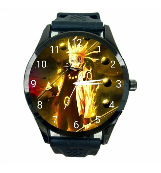 Relógio Naruto Unissex Shippuden Anime Manga Boruto Novo Personalizado T1096