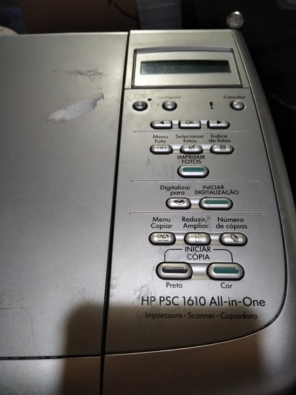 Impressora Hp Psc 1610 No Estado
