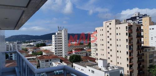Apartamento Com 3 Dormitórios Para Alugar, 111 M² - Ponta Da Praia - Santos/sp - Ap5855