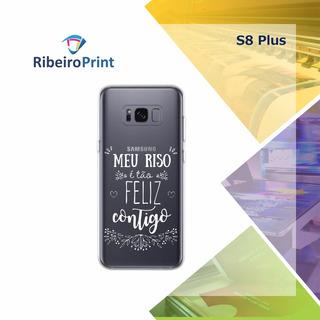 Capinha Personalizada Samsung Galaxy S8+