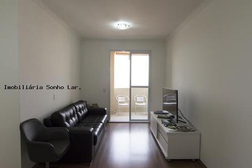 Apartamento Para Venda Em Osasco, Vila Osasco, 3 Dormitórios, 1 Suíte, 2 Banheiros, 2 Vagas - 8138_2-560306