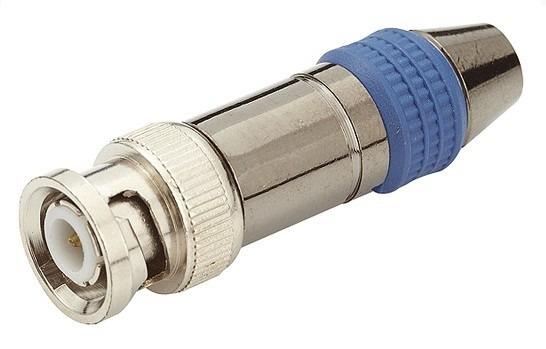 Conector Bnc Macho P/ Aparafusar Cabo Rgc58/59 Com Luva