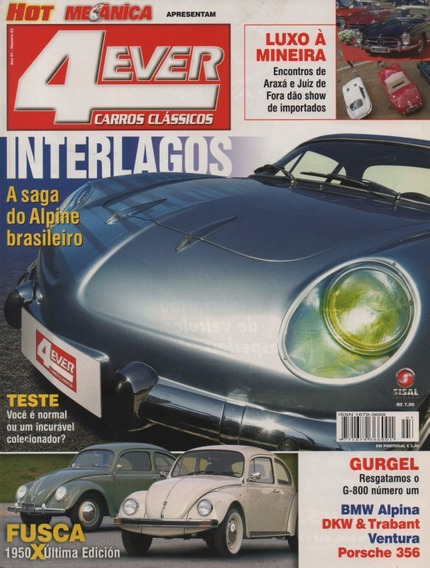 4ever Nº3 Willys Interlagos Fusca 1950 Última Edición Gurgel