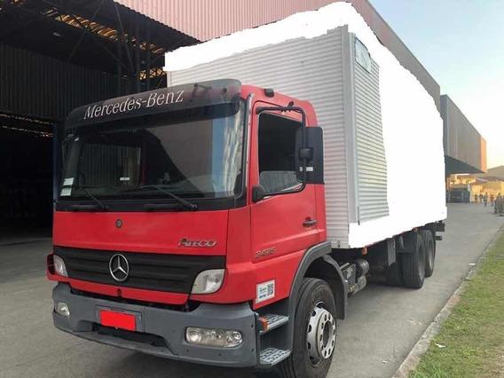 Mb 2425 6x2 2009 Bau 8,50mts C/ Plataforma - Bx.km - U.dono