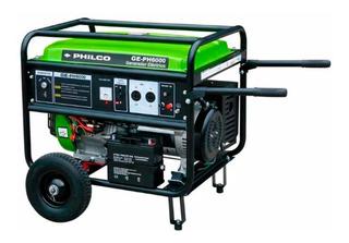 Generador Eléctrico Philco Ge-ph6000 5500w 25lts Nafta Pce