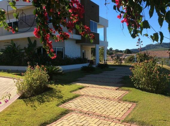 Sobrado Com 3 Dormitórios À Venda, 411 M² - Condomínio Jardim Das Palmeiras - Bragança Paulista/sp - So0063