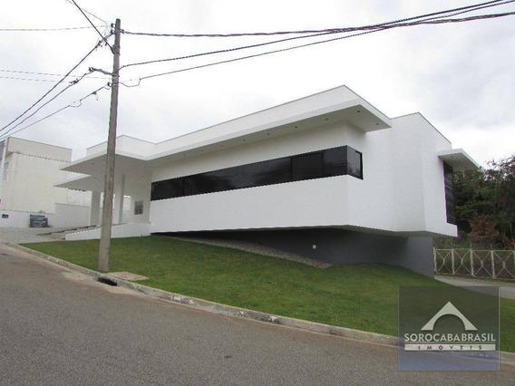 Casa Com 3 Dormitórios À Venda, 360 M² Por R$ 2.000.000 - Condomínio Belvedere Ii - Votorantim/sp, Próximo Ao Shopping Iguatemi. - Ca0070