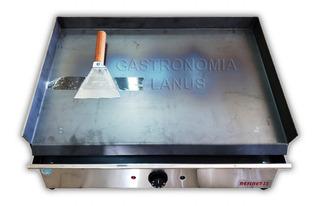 Plancha Bifera Electrica Acero Inox 2500w Espatula De Regalo