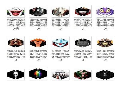Kit 300 Estampas Mascaras Chinelos E Camisas