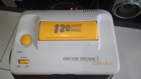 Master System 120 Jogos Na Memória