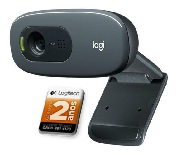 Webcam Logitech C270 Hd 720p Pc Notebook Original Nf