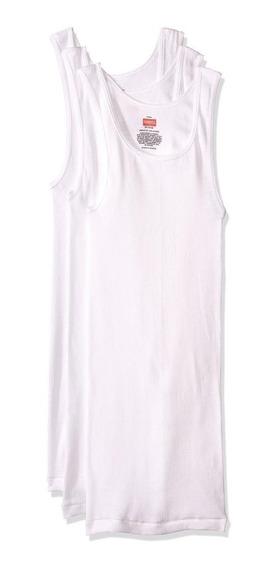 Rinbros Camiseta Dual Control Para Caballero P3-blanco