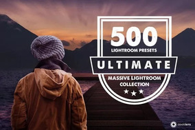 500 Ultimate Premium Lightroom Presets Adobe + Brinde