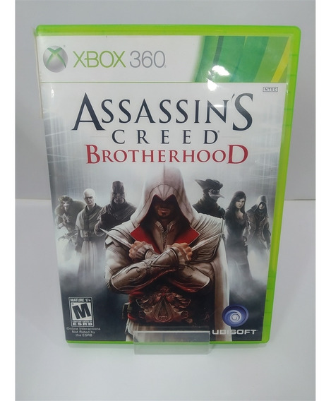 Assassins Creed Brotherhood (seminovo) - Xbox 360