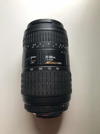 Lente Sigma Apo Macro Super 1:4-5.6d 70-300mm