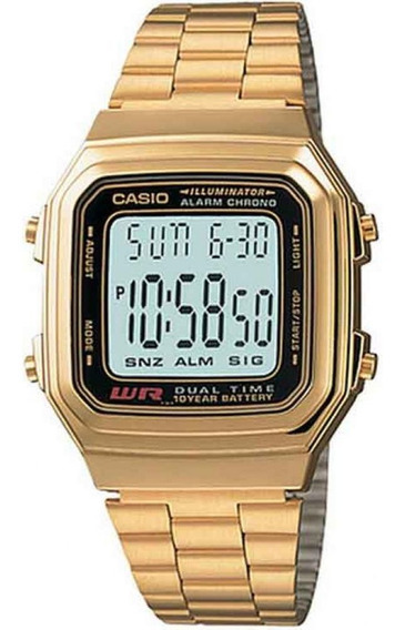 Relógio Casio Unissex Vintage A178wga-1adf - Nota Fiscal