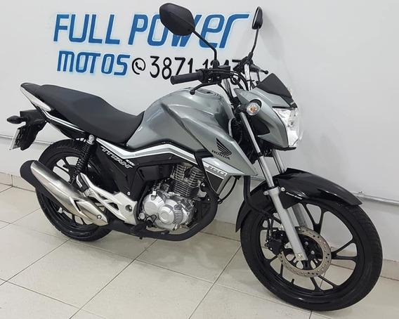 Honda Cg 160 Titan Ex Cinza 2019/19