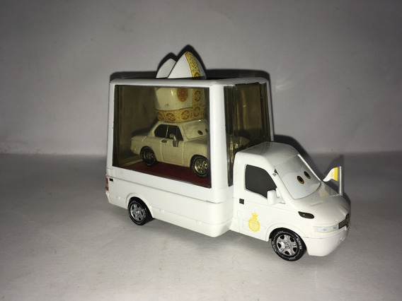 Disney Cars Popemobile E Pope Pinion