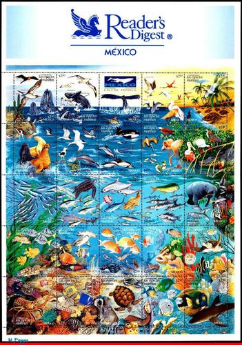 Imagen 1 de 1 de Mexico 1998 :  Conservemos Fauna Marina , Peces , Tortuga
